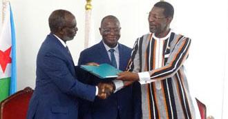 Passation de charges à l'Union des Parlementaires Africains (UPA)