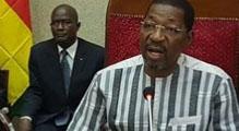 SEM Alassane Bala Sakande , Président de l'Assemblée Nationale du Burkina Faso
