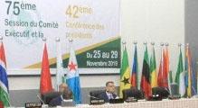 75ème Session du Comité Exécutif de l'UPA (Djibouti , 25-29 Novembre 2019)